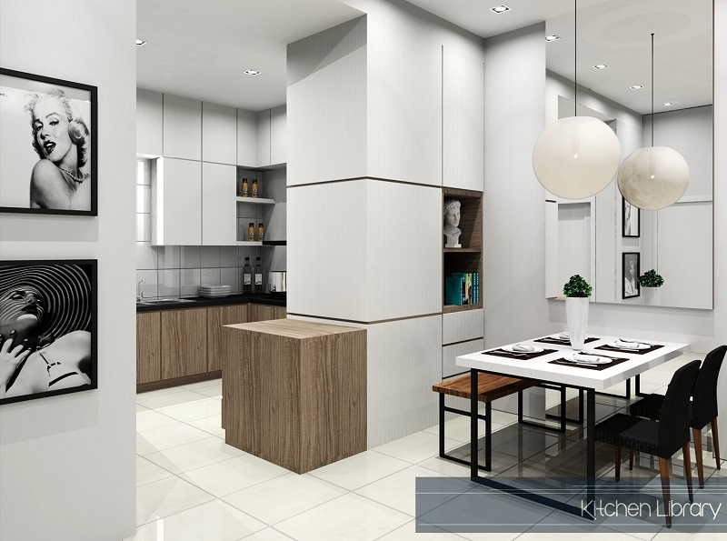 Residential Setia Eco Cascadia 01 GF Kitchen